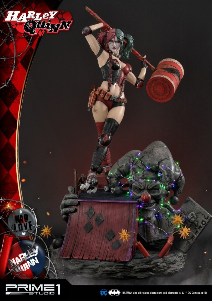 Behold Prime 1's new $1350 Harley Quinn statue, puddin' 40