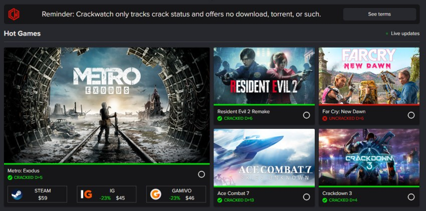 Denuvo 5.6 cracked within a week after protecting Metro Exodus 4