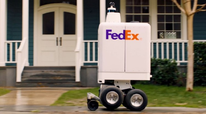 FedEx has built a new robot to handle short distance deliveries 2