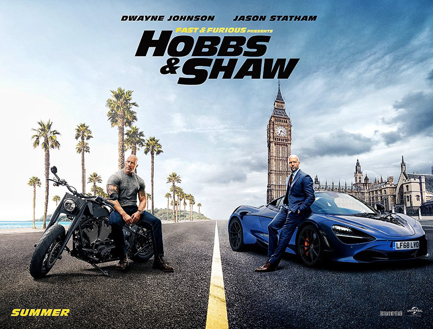 First 'Hobbs & Shaw' Trailer Reveals the 'Fast & Furious' Spinoff