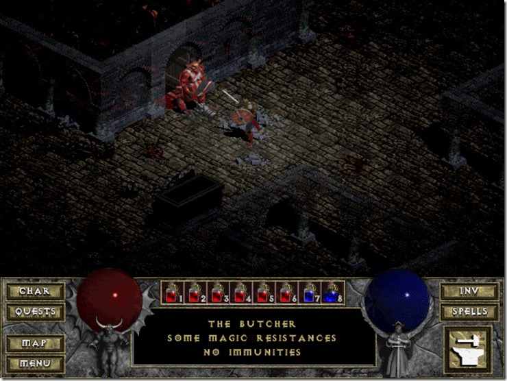 Diablo 1 Retrospective - Or How I Learned To Love The Loot 10