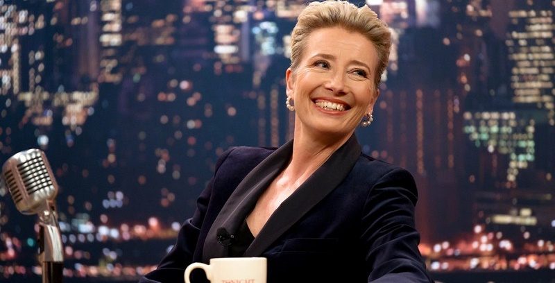Emma Thompson channels her inner Meryl Streep in this trailer for Late Night 2