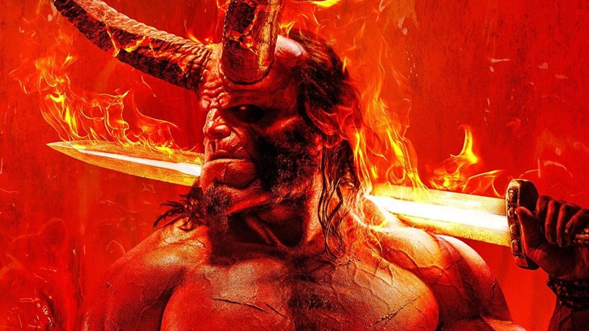 The New Hellboy Trailer is as Gleeful as it is Gory
