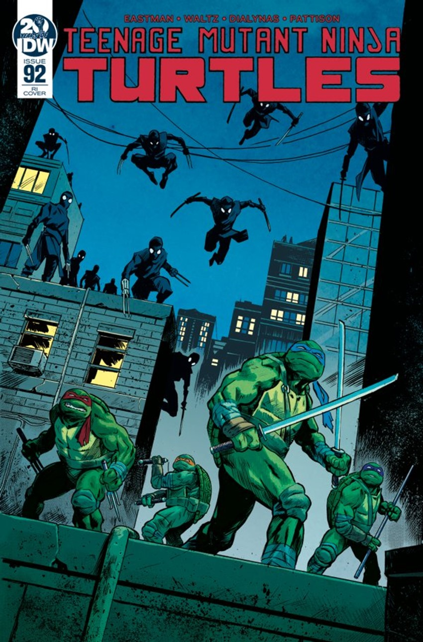 Teenage Mutant Ninja Turtles #92