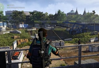 Exploring Washington DC is my favourite part of the The Division 2 20