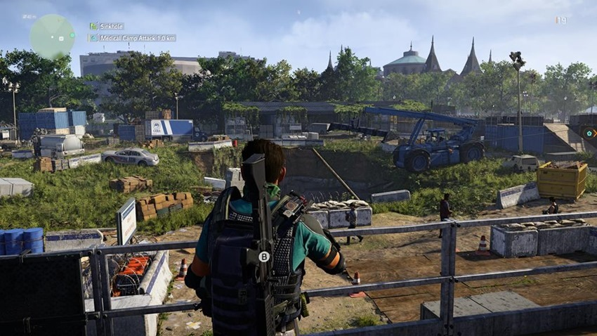 Exploring Washington DC is my favourite part of the The Division 2 8