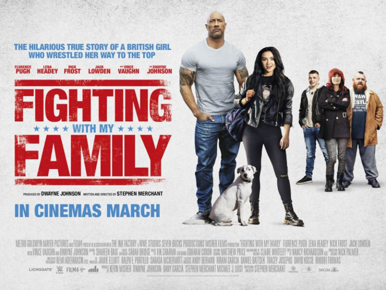 Win double tickets to an early screening of wrestling biopic Fighting With My Family 3