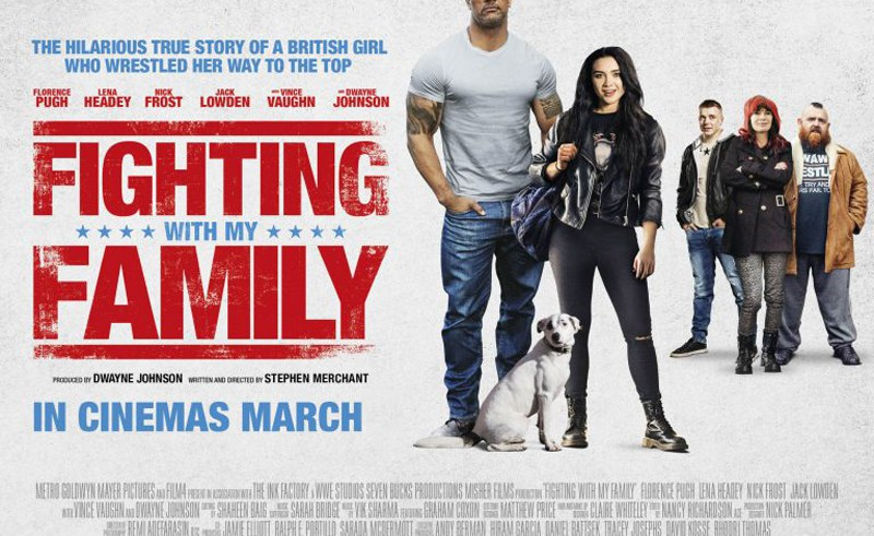 Win double tickets to an early screening of wrestling biopic Fighting With My Family 9