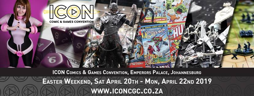 Surprise! ICON Comic and Games Convention is days away 7