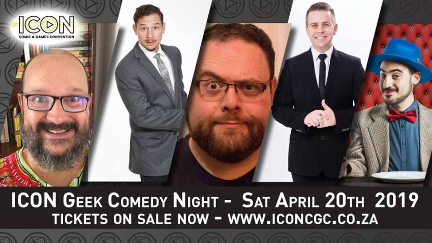 Surprise! ICON Comic and Games Convention is days away 8