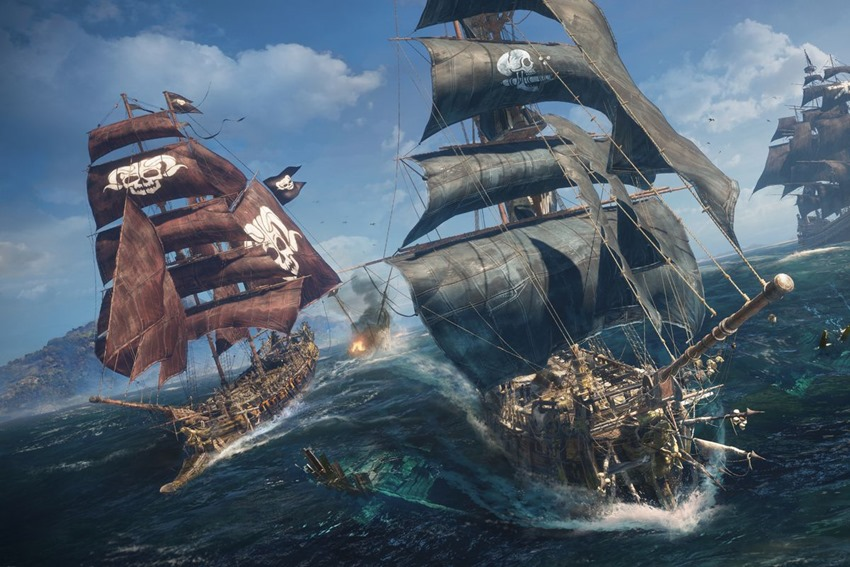 Skull & Bones Delayed Again, but Ubisoft Promises More Unannounced Titles