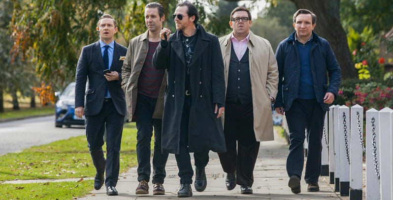 Edgar Wright is not happy that Netflix's auto trailer spoils The World's End 2