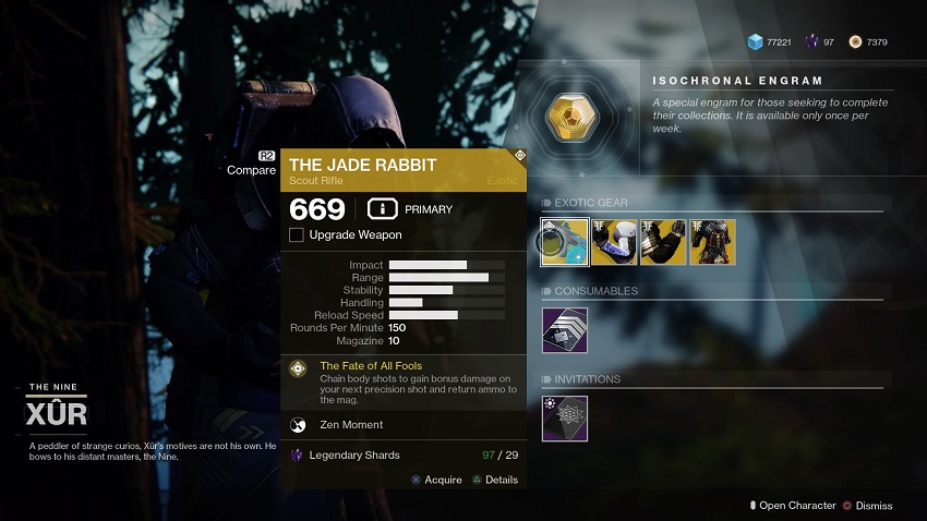 Destiny 2: Where is Xur (and whats he got for sale?) – June 21 4