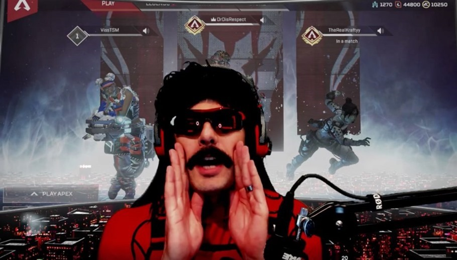 Clips suggest Dr Disrespect received Twitch ban live on air