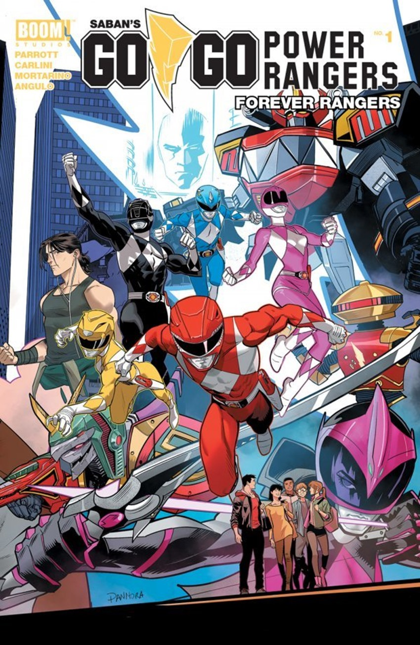Go Go Power Rangers Forever Rangers #1