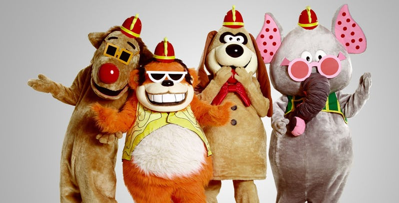 This trailer for the adaptation of classic kids show Banana Splits is full-blown horror 2