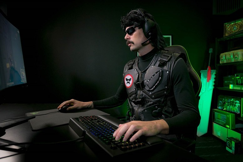 Dr Disrespect Twitch Channel Unbanned