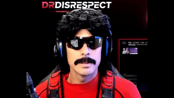 Dr Disrespect's Twitch channel unbanned after 2 weeks