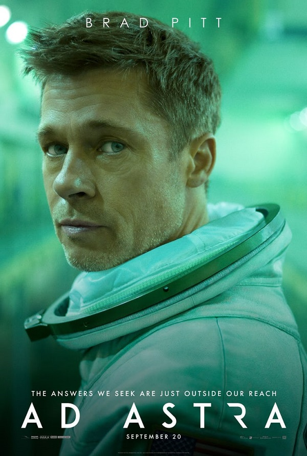 Brad Pitt is off on a big adventure in outer space in this second trailer for Ad Astra 4