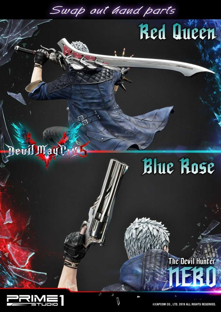 Devil May Cry V's Nero is ready to kick demon ass again in this magnificent Prime 1 statue 46