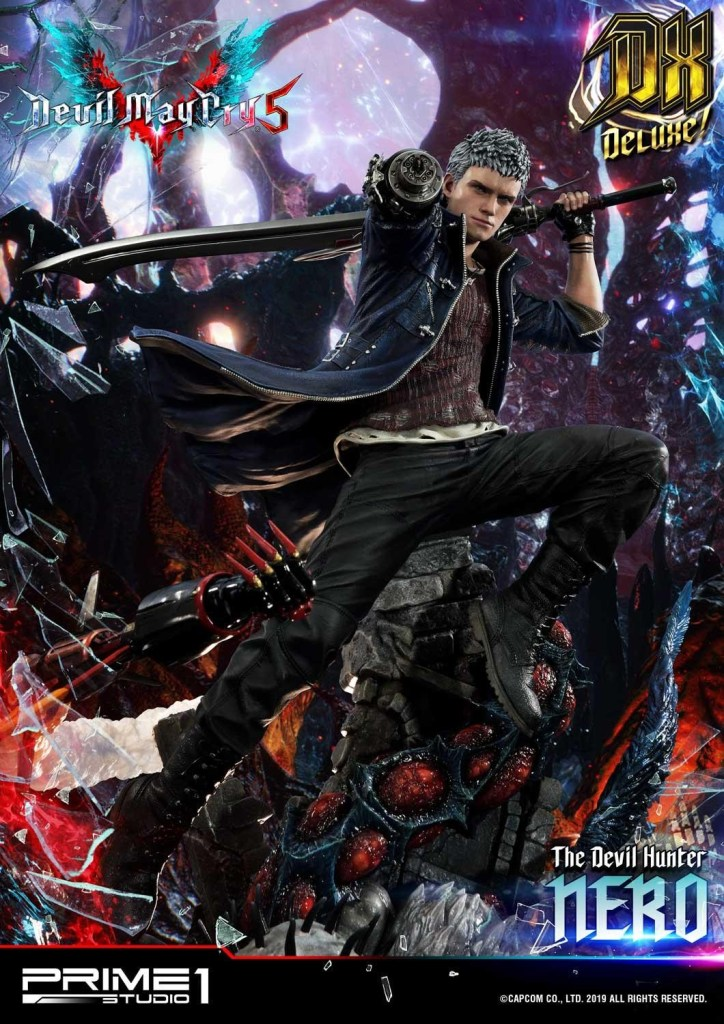 Devil May Cry V's Nero is ready to kick demon ass again in this magnificent Prime 1 statue 52