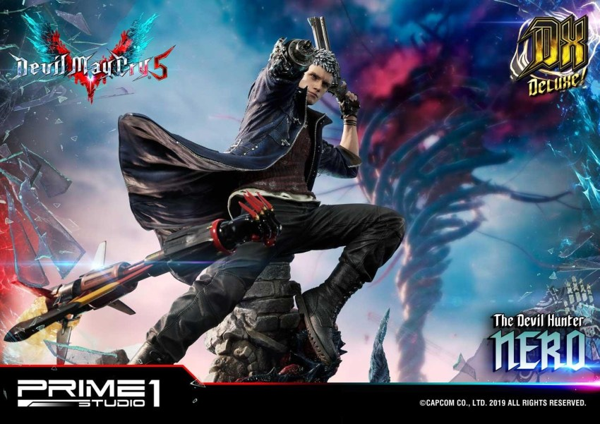 Devil May Cry V's Nero is ready to kick demon ass again in this magnificent Prime 1 statue 61