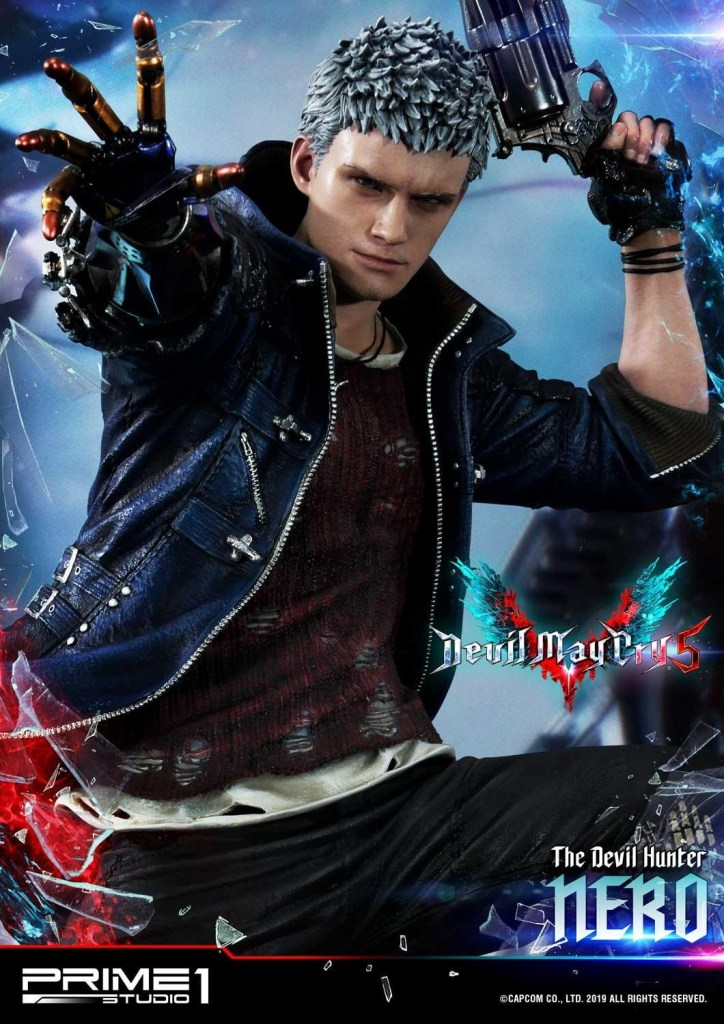 Devil May Cry V's Nero is ready to kick demon ass again in this magnificent Prime 1 statue 63