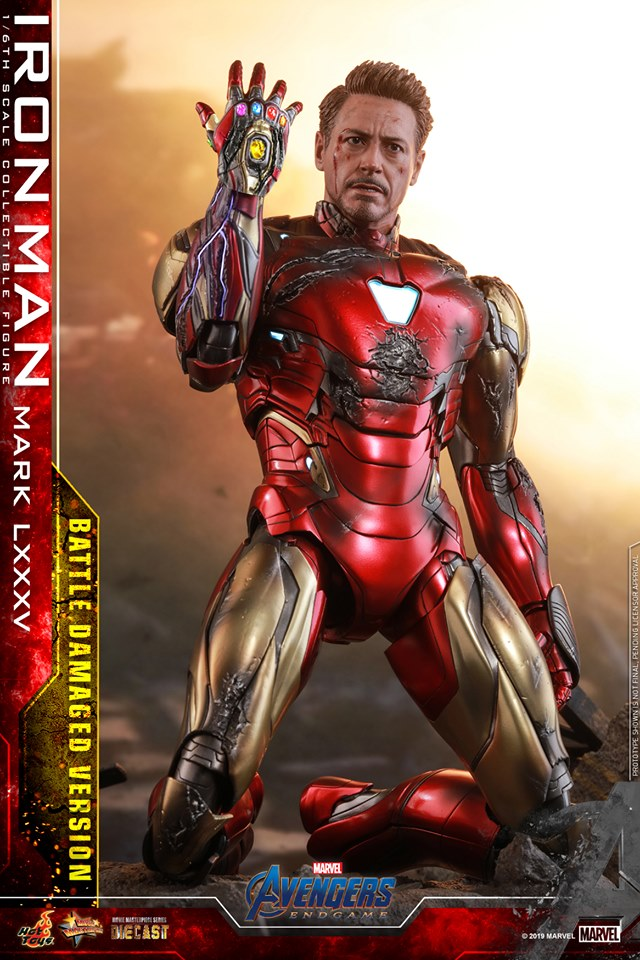 Relive (and cry about!) the best scene in Avengers: Endgame with this new Hot Toys Iron Man figure 27