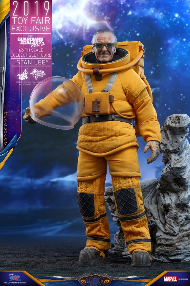 Excelsior! Stan Lee lives once again in this new Hot Toys replica figure 16