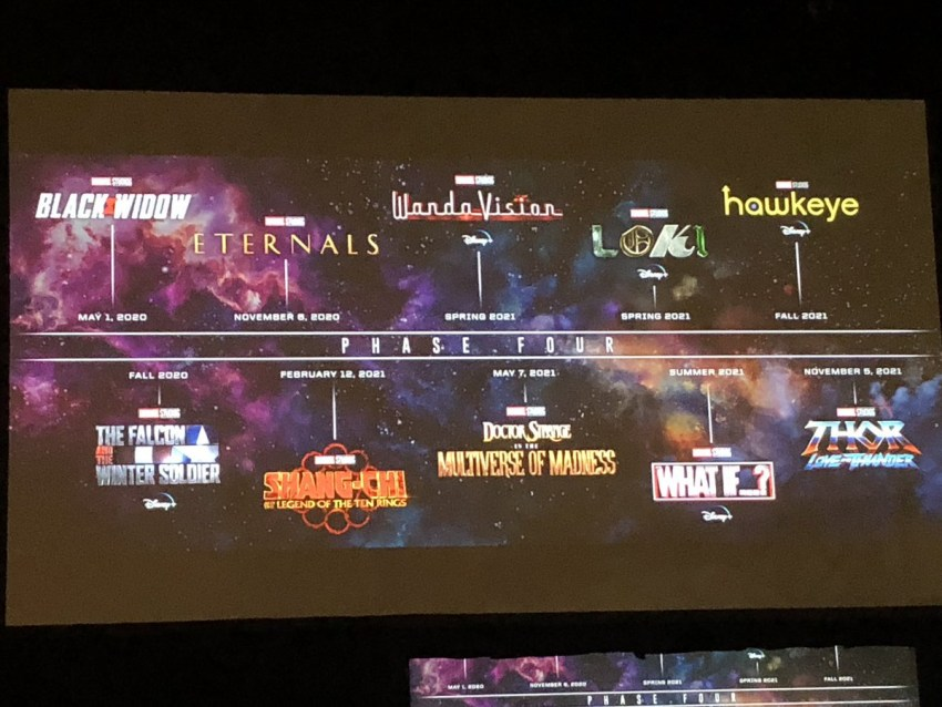 SDCC 2019: Marvel Studios Phase Four lineup includes female Thor, Blade, Shang-Chi and more! 12