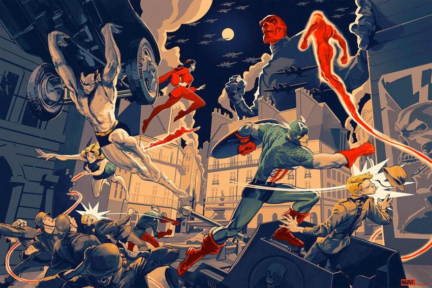 SDCC 2019: Mondo's new exclusive Comic-Con posters are cinematic works of art 29