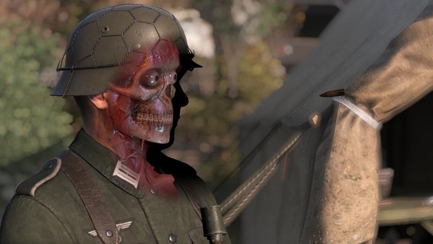 Sniper Elite x-ray cam