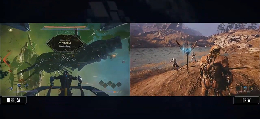 Warframe's new co-op space combat mode allows you to link with other squads on the ground, introduces Nemesis system 5