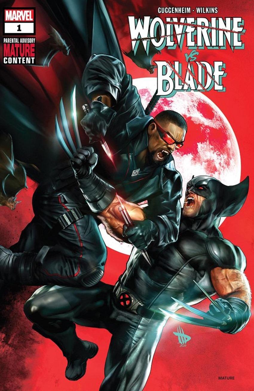 Wolverine vs. Blade #1