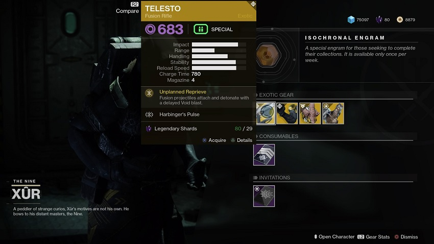 Destiny 2: Where is Xur (and whats he got for sale?) – August 16 4