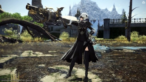 Nier Automata will be making its way into Final Fantasy XIV in October - Critical Hit