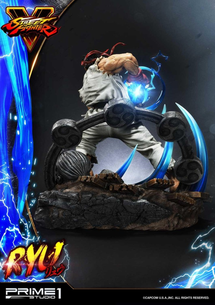 For $1299, you get a lot of Street Fighter in this Ryu statue from Prime 1 27