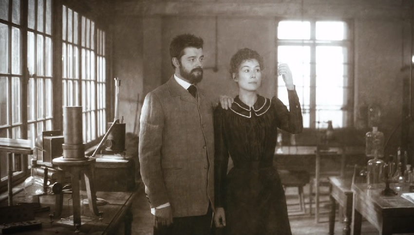 Rosamund Pike changes the world in the surreal Marie Curie biopic Radioactive 3