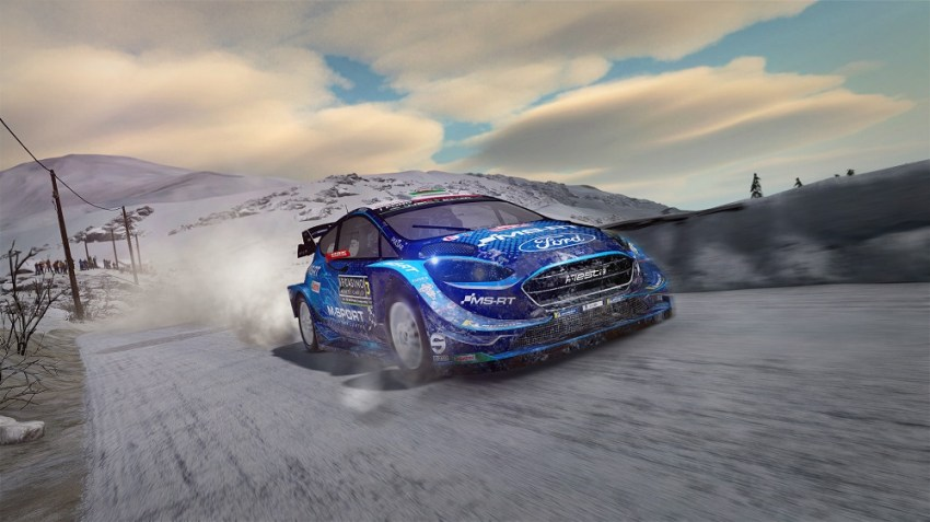 WRC 8 review - Twigs and leaves in the fuel 10