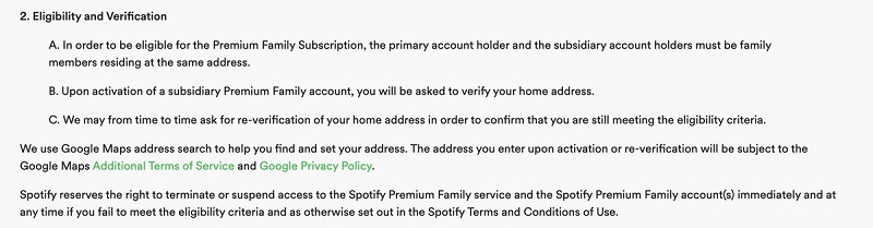 Spotify wants to crack down on family plan sharing violations 4
