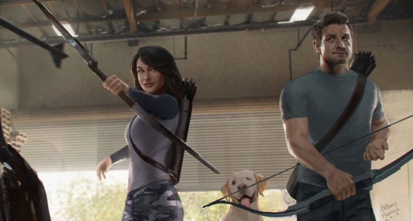 Awesome concept art for The Falcon & The Winter Soldier and Hawkeye series revealed 16