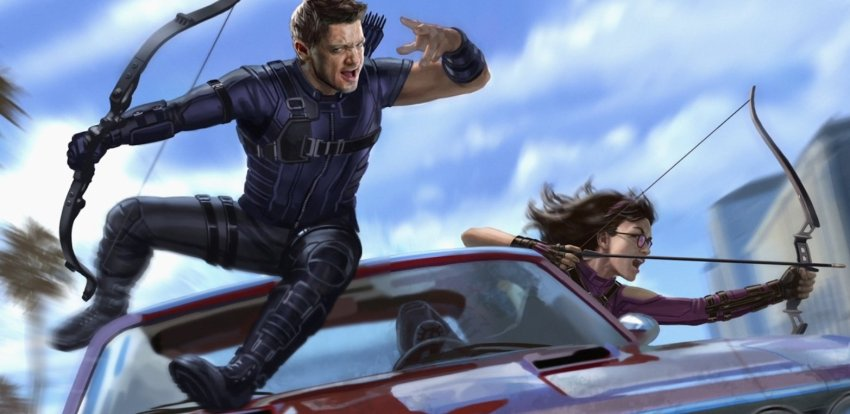 Hawkeye TV series to feature Kate Bishop, Echo, and Pizza Dog 5