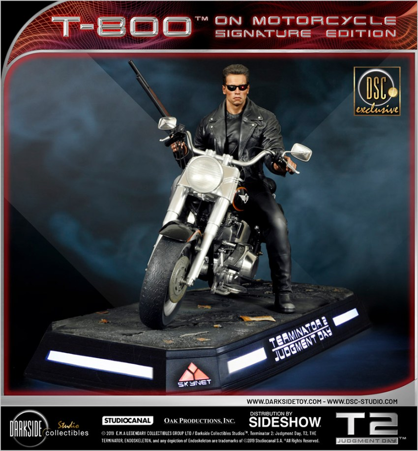 I need your clothes, your boots and your motorcycle after buying this Terminator 2 statue 59