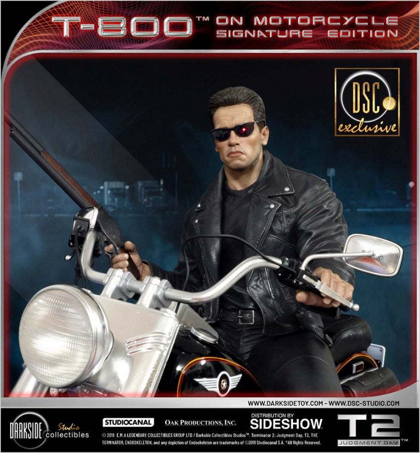 I need your clothes, your boots and your motorcycle after buying this Terminator 2 statue 60