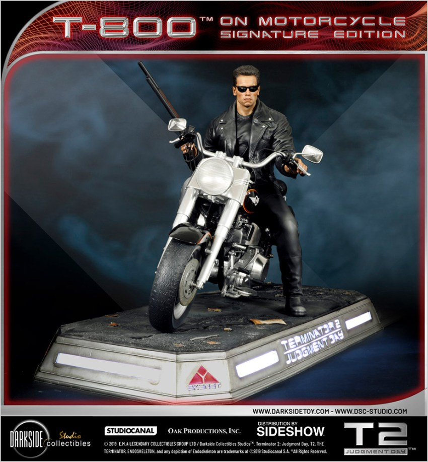 I need your clothes, your boots and your motorcycle after buying this Terminator 2 statue 39