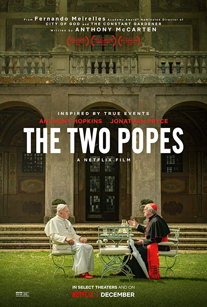 There's a changing of the guard in Netflix's biographical drama The Two Popes 4