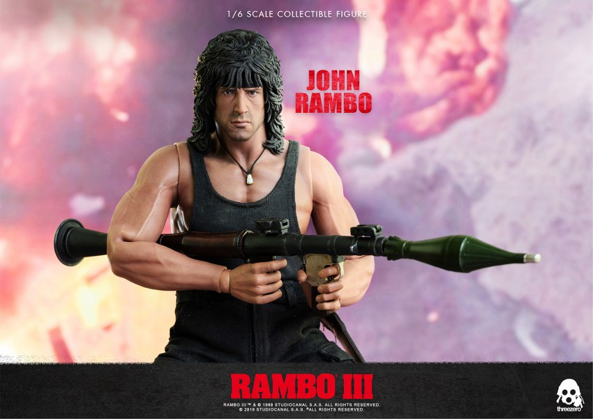Nothing is over! Rambo lives again as a sixth-scale action figure from ThreeZero 18