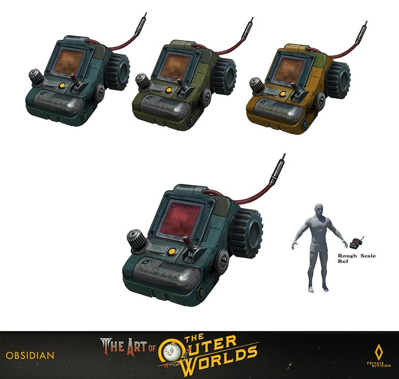 The art of The Outer Worlds 154