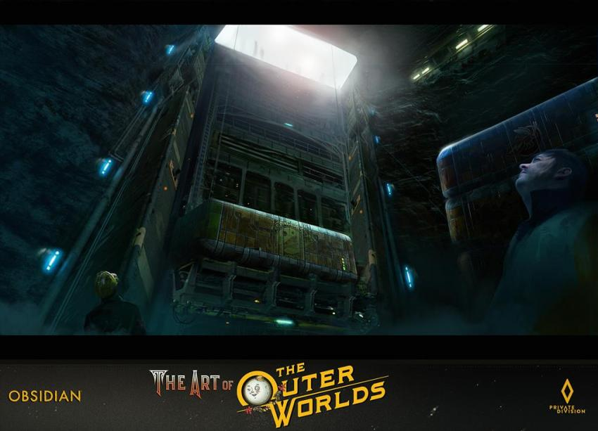The art of The Outer Worlds 158