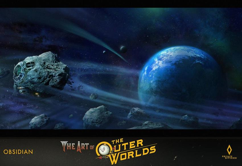 The art of The Outer Worlds 163